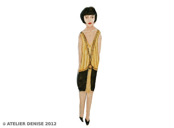Louise Brooks Christmas Ornament