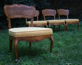4 Thomasville Slipper chairs Reserved for VintageVarsity