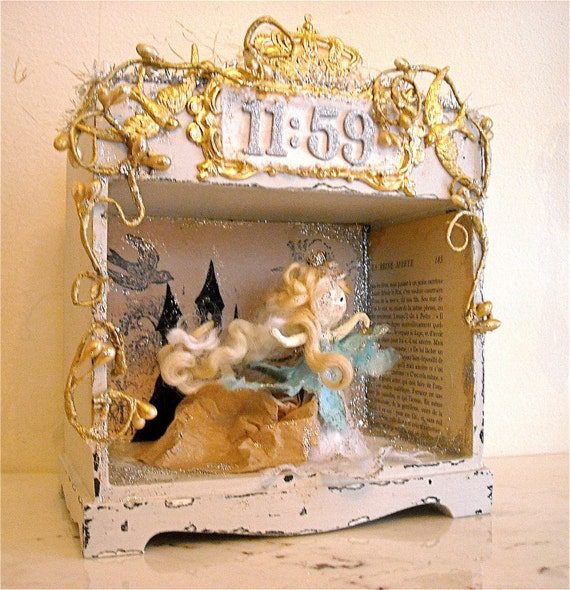 Shabby Gray Miniature Theatre - Cinderella at Eleven-Fifty Nine
