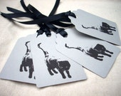 Black Cat Gift Tags FREE SHIPPING - Hand crafted