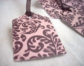 Floral Gift Tags FREE SHIPPING - Hand crafted