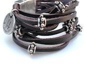 leather bracelet Cosmo