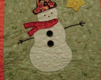 Victorian Christmas Sampler Quilt Wallhanging