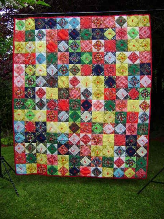 Square-within-a-Square Patchwork QUILT