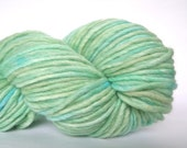 """Variegated yarn, handpainted wool chunky in """"Swirling Current"""""""
