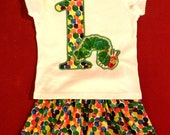 Very Hungry Caterpillar - Eric Carle- Birthday girl outfit