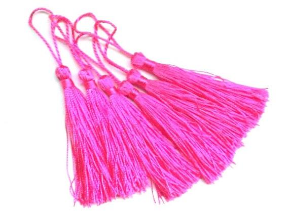 Pink Tassels