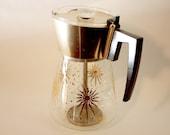 Atomic Gold Douglas Flameproof Coffee Carafe Percolator