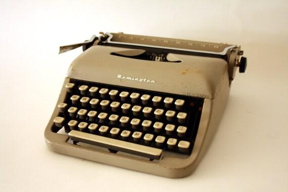 Vintage Remington REM-RITER Industrial Typewriter