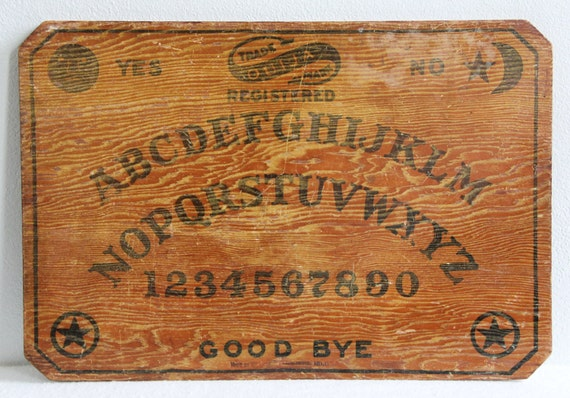 1919 - 1930 Antique William Fuld Ouija Board Without Planchette