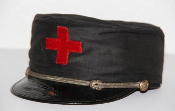 1892s Antique Masonic Fraternal Kinghts Templer Hat Civil War Era Henderson Ame's Co. Kalamazoo Michigan Army Military Regalia