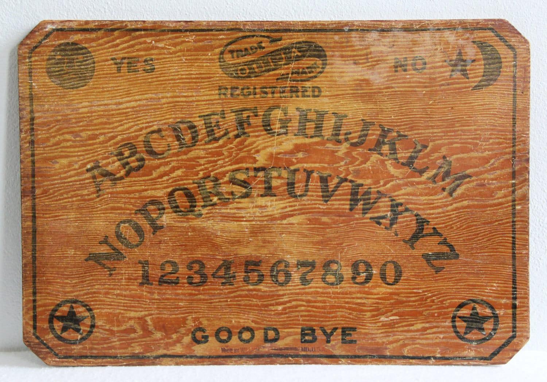 Vintage Ouija Boards 36