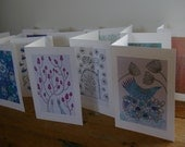 BUY 4, GET 1 FREE deal on my greetings cards.