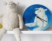 Handpainted children's clock