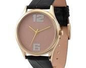 Minimalist Rose Gold Watch
