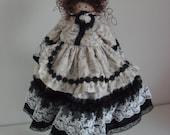 Handmade Victorian Style Doll  -- Doll 1