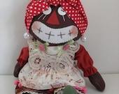 Handmade Country Rag Doll -- Doll 31