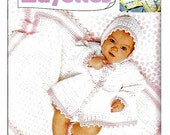 Worsted Weight Layettes  Crochet Pattern Book Leisure Arts 2537