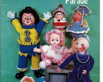Crocheted Playmates on Parade BKW022