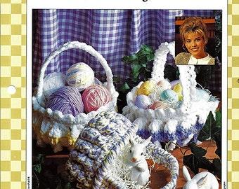 Soft and Pretty Baskets Crochet Pattern Bazaar Best-sellers 8