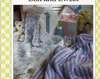 Soft and Sweet Baby Afghan Crochet Pattern