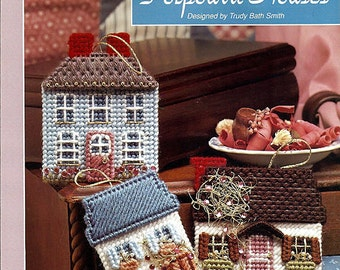 Potpourri Houses Plastic Canvas Pattern  The Needlecraft Shop 913914