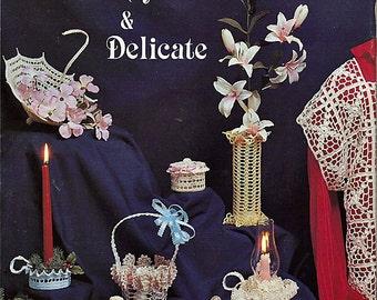 Dainty & Delicate  Crochet Pattern Book Pat Depke Books PD-4530