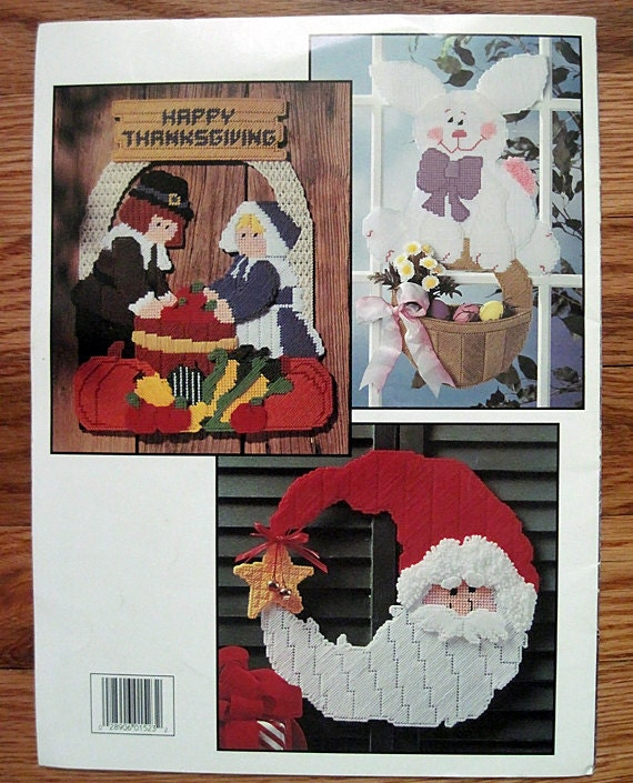 Holiday Hang-Ups In Plastic canvas Pattern- Leisure Arts 1523
