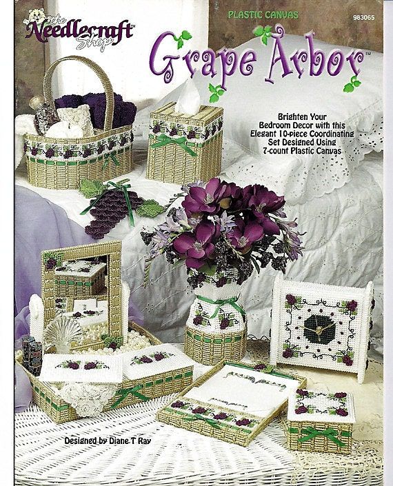 Plastic Canvas Grape Arbor The Needlecraft Shop 983065