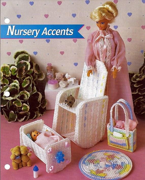 Nursery Accents Fashion Doll Furniture Plastic Canvas Pattern