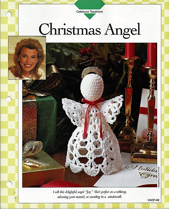 Three Crochet Angel Patterns: Christmas Angel, Celeste Angel, and Pristine Angels