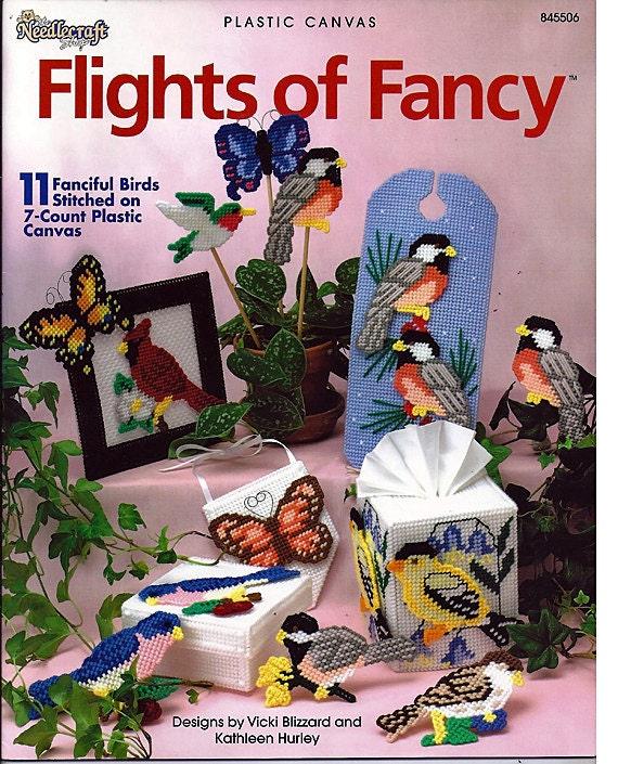 Flights of Fancy Plastic Canvas Pattern  The Needlecraft Shop 845506