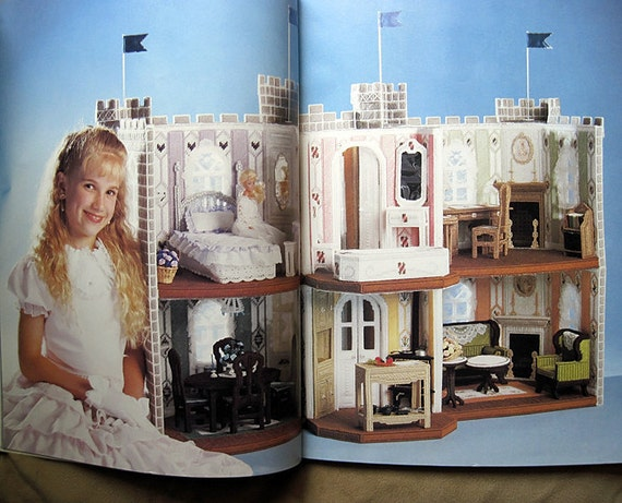 Fashion Doll Dream Castle Plastic Canvas Pattern The Needlecraft Shop 933728