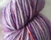 Sugared Sheep Cake Worsted Weight Yarn - Purple Frosting