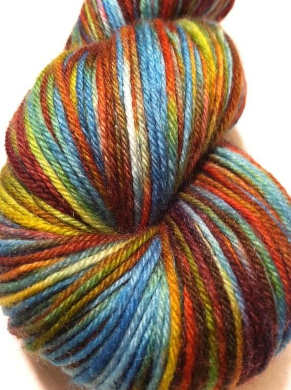 Sugared Sheep Brulee MCN Sock Yarn - Madelyn's Tea Party Dark