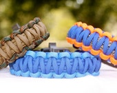 Paracord Survival Bracelet with Whistle