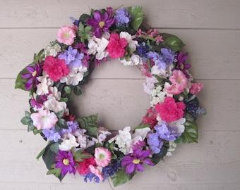 Good Morning, Morning Glory Wreath