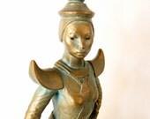 RESERVED: Rare Mid Century Fred Press Ceramic Sculpture, SALE