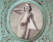 1930s Instant Download Knitting Pattern Dress and Bolero Wool Angora Minerva PDF M/L