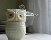 Vintage Avon Owl Perfume Jar
