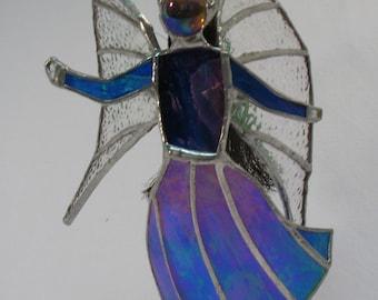 Angel - Blue iridescent