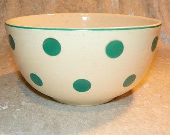 Batter Bowl Rare Polka Dot Bennett Bakeware