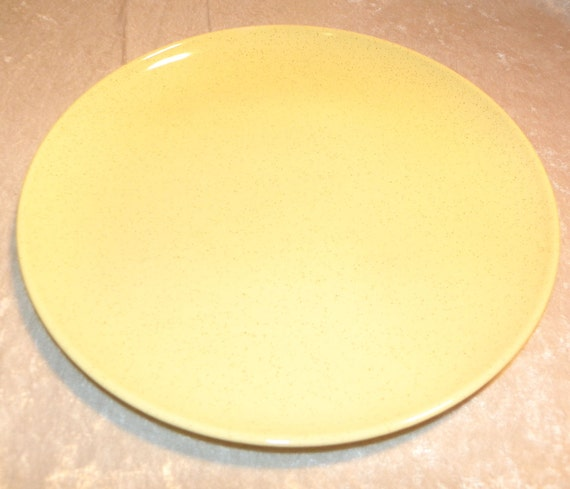 Pebbleford Sunburst Yellow Plate by Taylor Smith Taylor