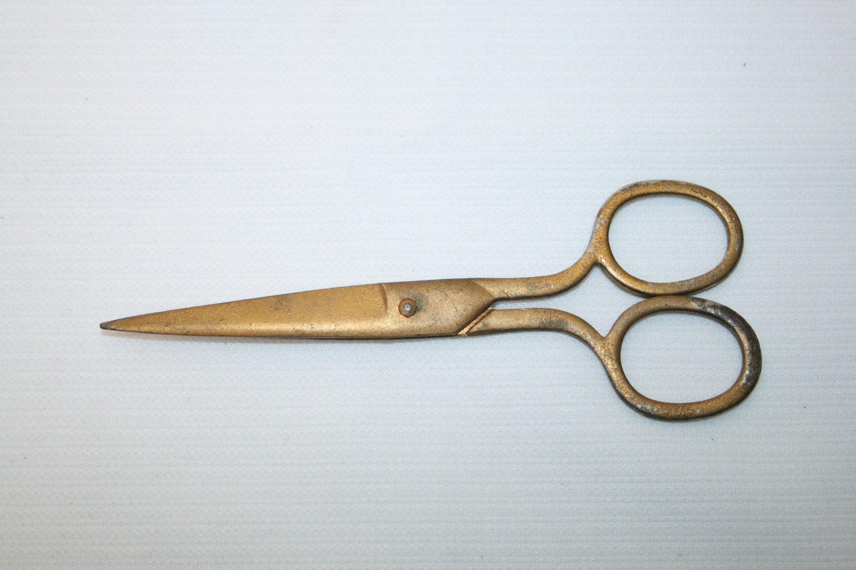 Vintage Sewing Scissors Scissorsscissor Scissor Antique