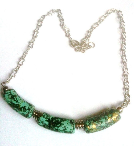 Celebrity Thermoset Modernist Necklace 1980s Vintage Jewelry