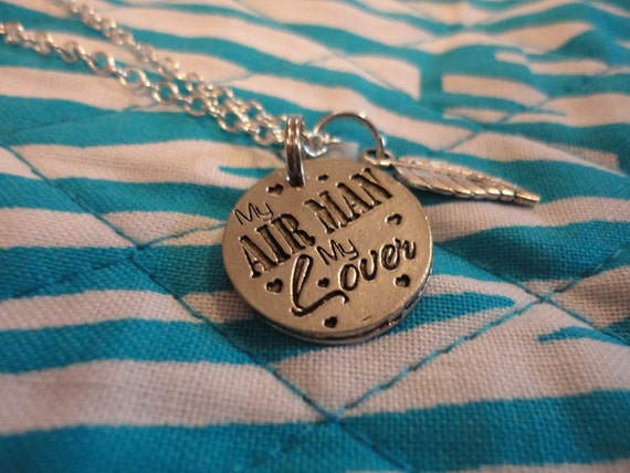 Air Force Love Necklace