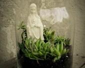 Virgin Mary Terrarium