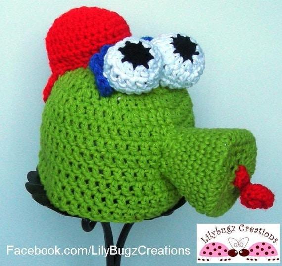 Phillies Phanatic Handmade Crochet Hat