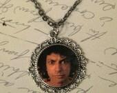 Jeff Goldblum is Watching You Poop Necklace