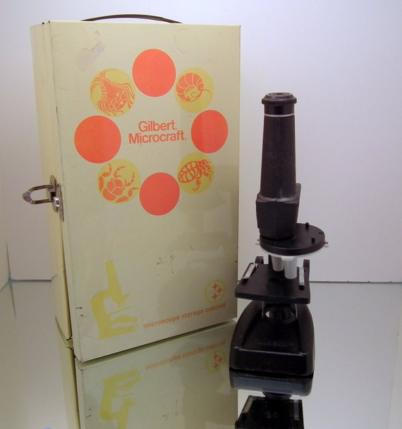 Vintage Microscope Kit
